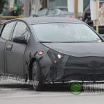 トヨタ「次期プリウス2016」開発テスト車両:スパイショット