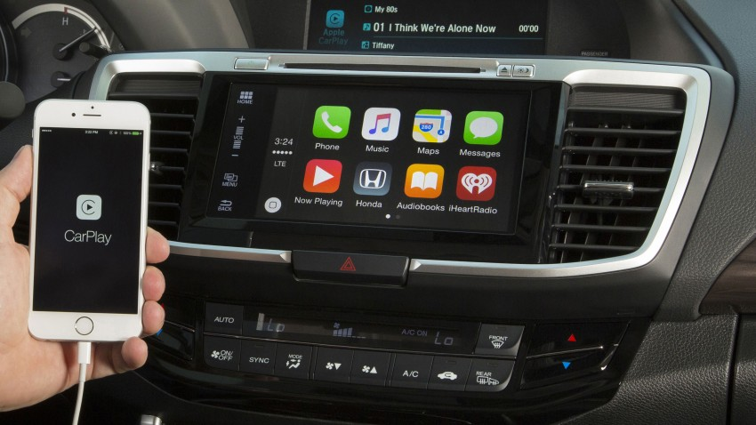 2016 apple carplay android auto