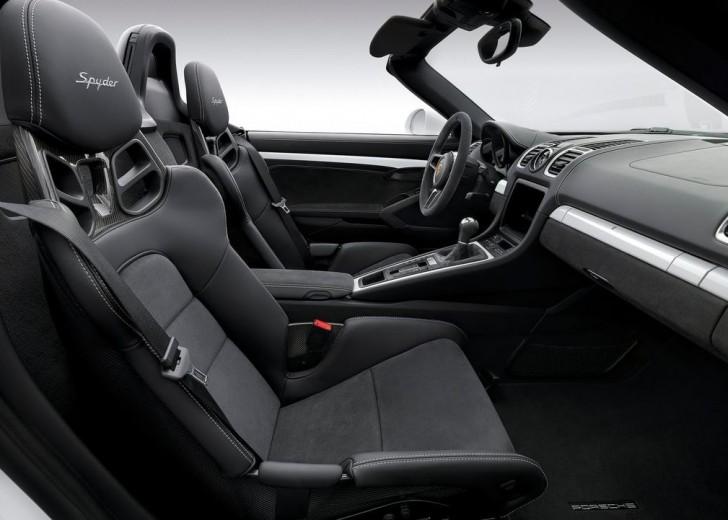 Porsche Boxster Spyder 2016 09