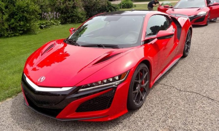 honda NSX 2016 dealer 06