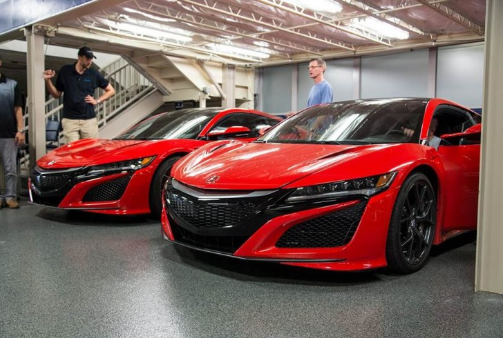 honda NSX 2016 dealer 10