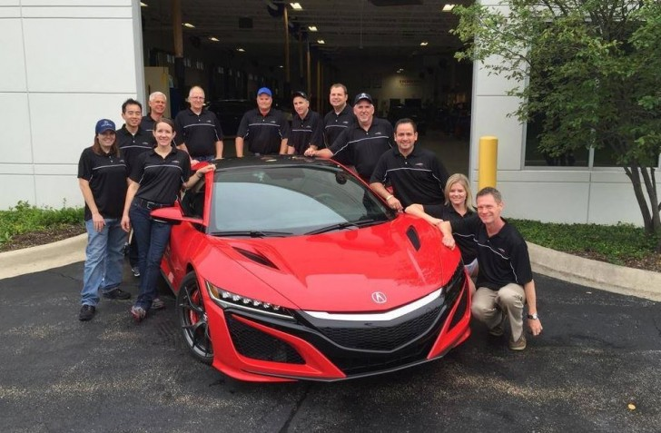 honda NSX 2016 dealer 15