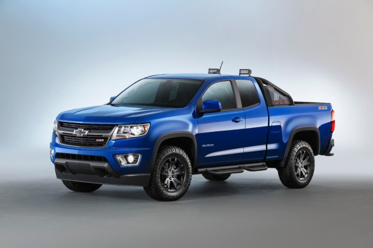 2016 Chevrolet Colorado Z71 Trail Boss 01