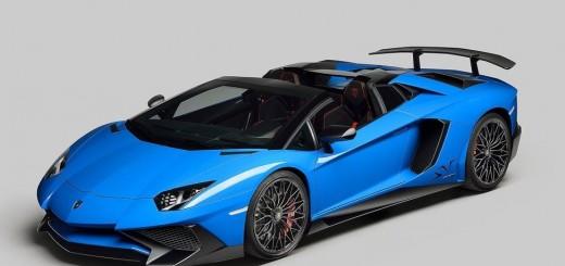 Lamborghini Aventador LP750-4 SV Roadster 2016 01