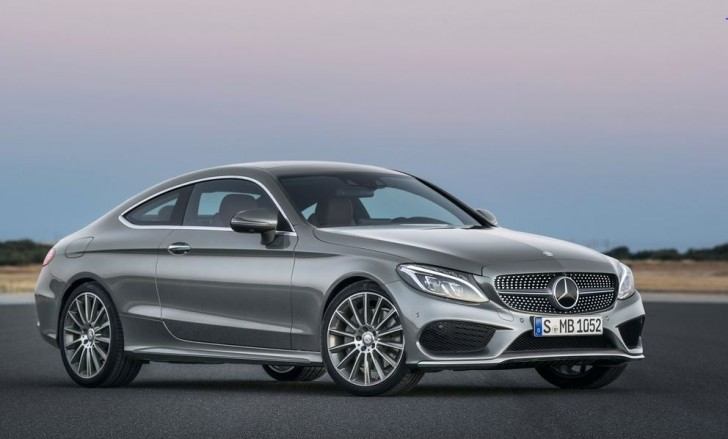 Mercedes-Benz C-Class Coupe 2017 01