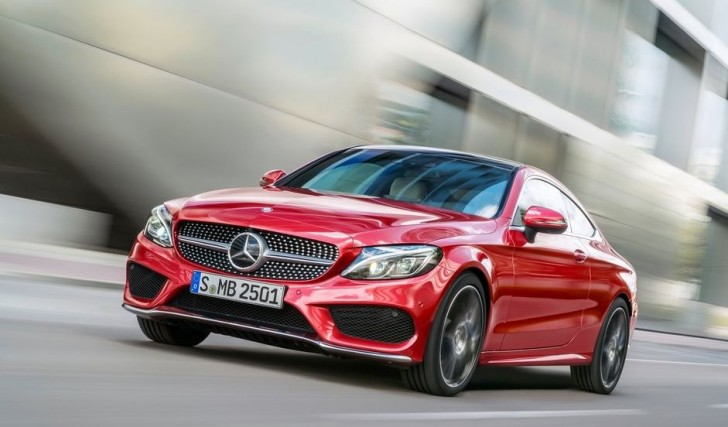 Mercedes-Benz C-Class Coupe 2017 04