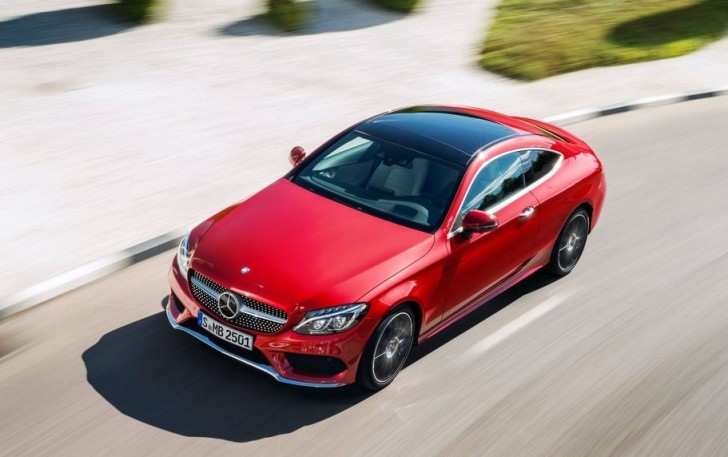 Mercedes-Benz C-Class Coupe 2017 06