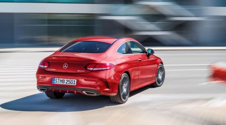 Mercedes-Benz C-Class Coupe 2017 07