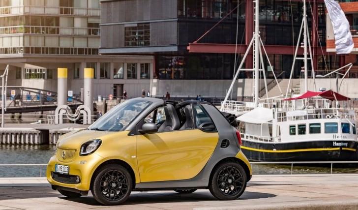 Smart fortwo Cabrio 2016 01