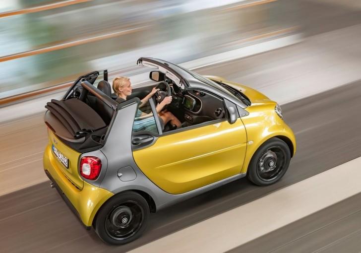 Smart fortwo Cabrio 2016 02