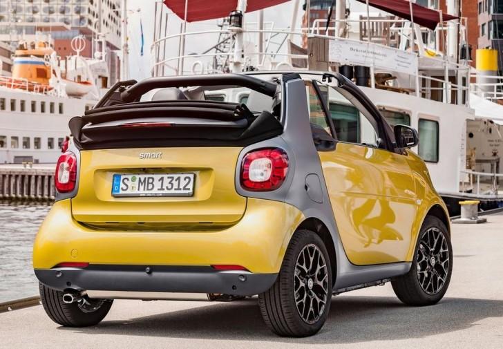 Smart fortwo Cabrio 2016 03