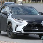レクサス「新型RX 2016」3列7シーターモデル;スパイショット