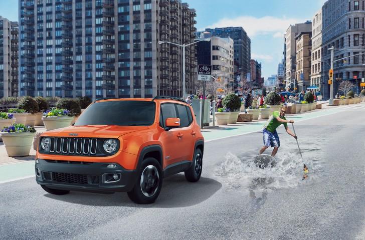 Jeep レネゲード日本発売1