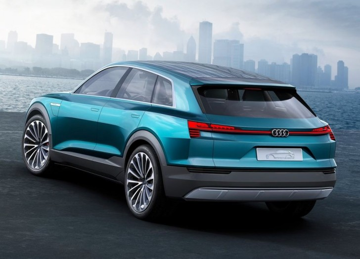 Audi e-tron quattro Concept 2015 07