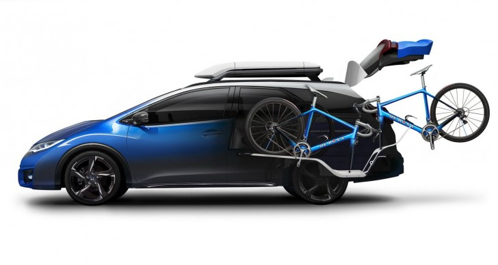 HONDA CIVIC TOURER ACTIVE LIFE CONCEPT 2015 08