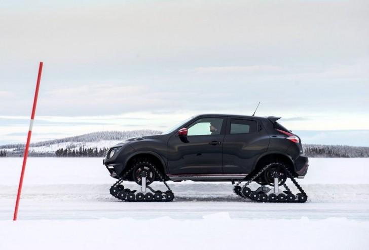 Nissan Juke Nismo RSnow Concept 2015 10