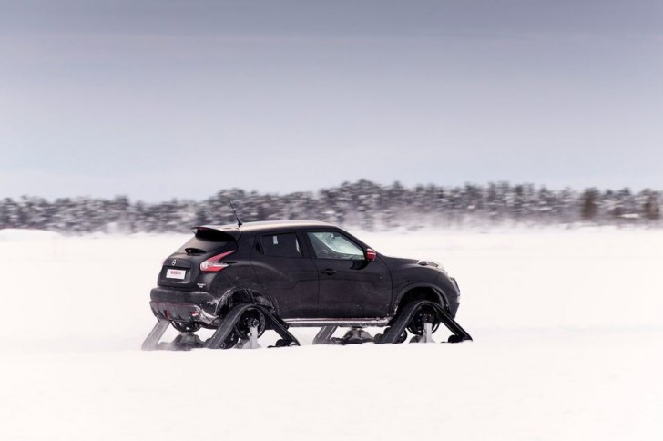 Nissan Juke Nismo RSnow Concept 2015 12