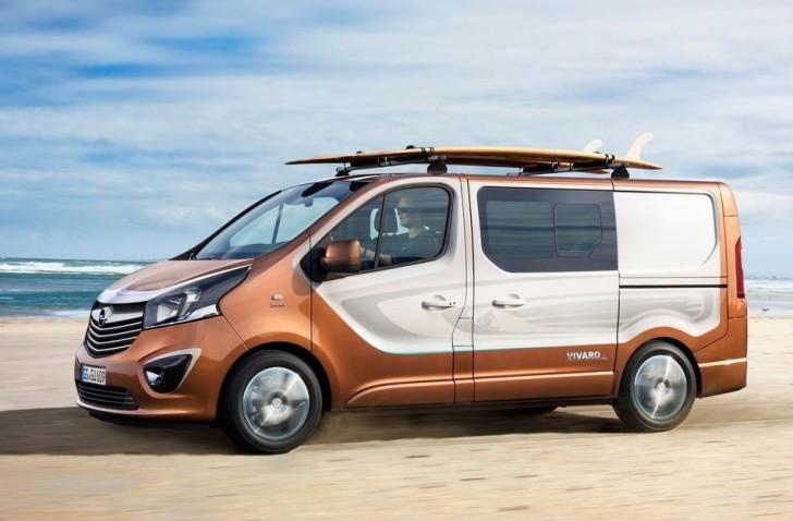 Opel Vivaro Surf Concept 2015 04