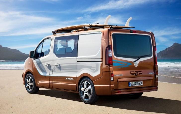 Opel Vivaro Surf Concept 2015 05