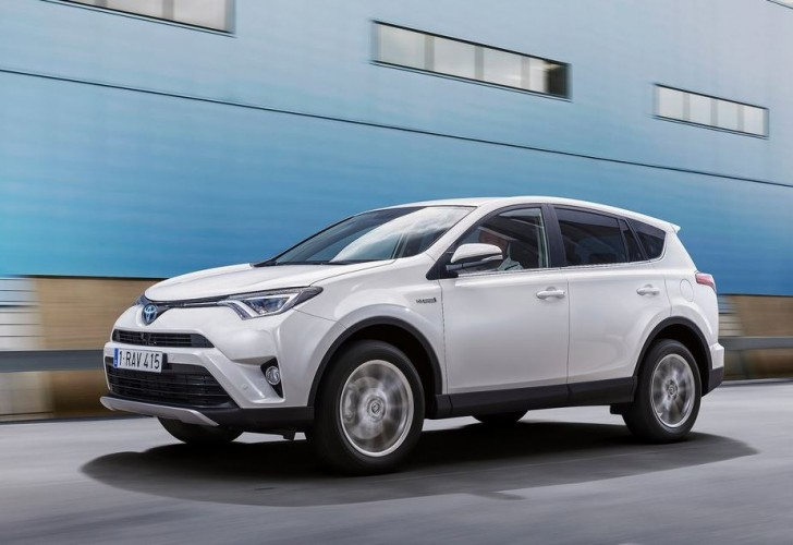 Toyota RAV4 Hybrid EU-Version 2016 07