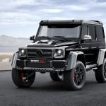Brabus Mercedes-Benz 「G500 4X4」発表;デザイン画像集
