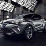 トヨタ「新型C-HR コンセプト」市販化へ向けた5ドア仕様を発表;デザイン画像集!