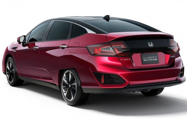 Honda Clarity Fuel Cell 2016 04