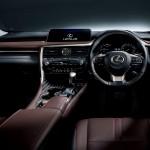 レクサス「新型RX 2016」日本国内発表;インテリアデザイン画像集