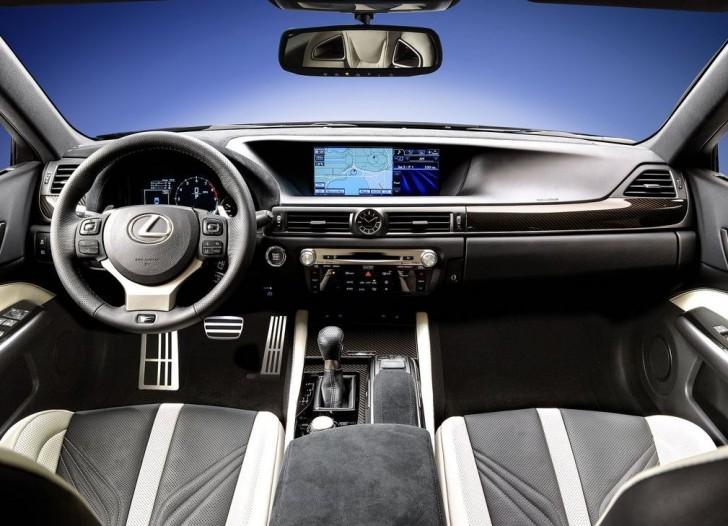 Lexus GS F 2016 07