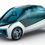 トヨタ 新型燃料電池車「FCV PLUS」発表;デザイン画像集@東京モーターショー2015