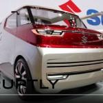 スズキの新型ミニバン「エアトライサー」実車デザイン動画;座席が自動でソファーに変身!