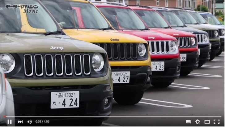 Jeep renegade 試乗
