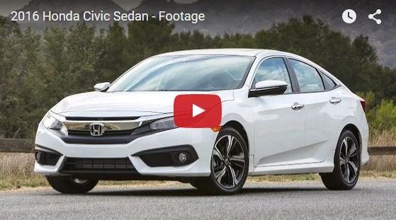 honda civic footage