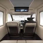 トヨタ、次世代タクシー「JPN TAXI 2015」発表;インテリアデザイン画像集