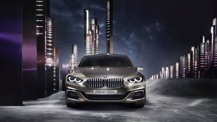BMW compact sedan concept 01