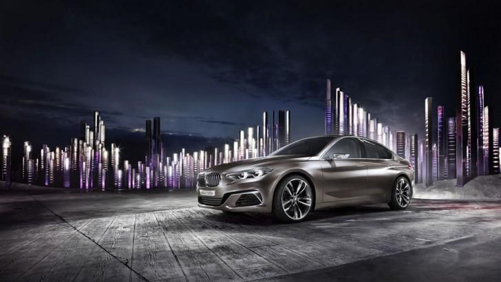 BMW compact sedan concept 02