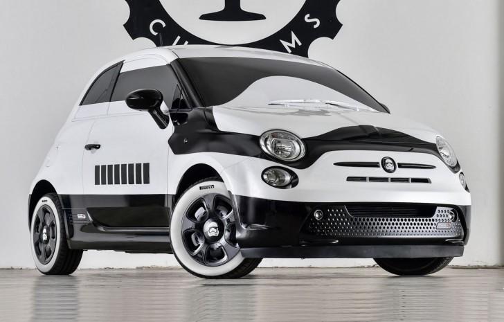 Fiat 500e stormtrooper 01