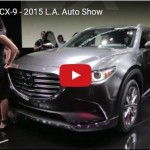 マツダ「新型CX-9 2016」実車デザイン動画@LAモーターショー