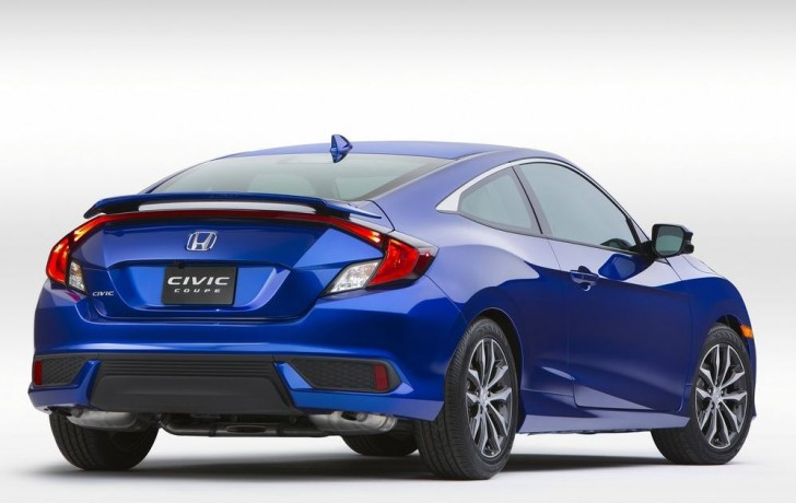 Honda Civic Coupe 2016 04