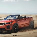 Land Rover 「新型Range Rover Evoque Convertible 2017」デザイン画像集