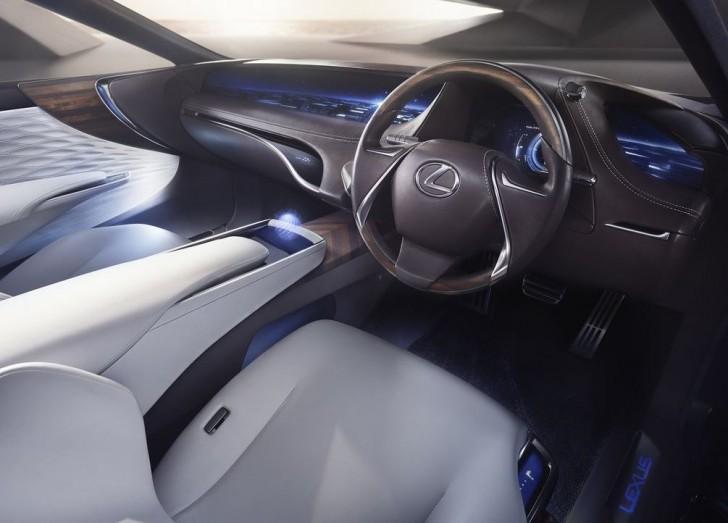 Lexus LF-FC Concept 2015 06