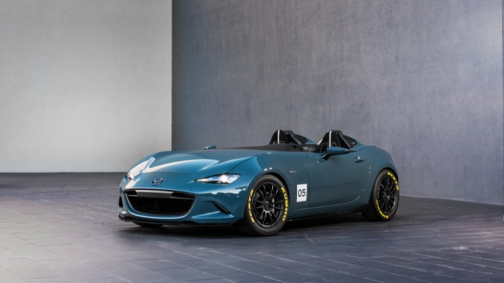 Mazda MX-5 Spyder and MX-5 Speedster concepts 2015 02