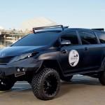 トヨタ「UUV」発表;ミニバン×ピックアップトラックの超イカツイボディ@SEMA2015