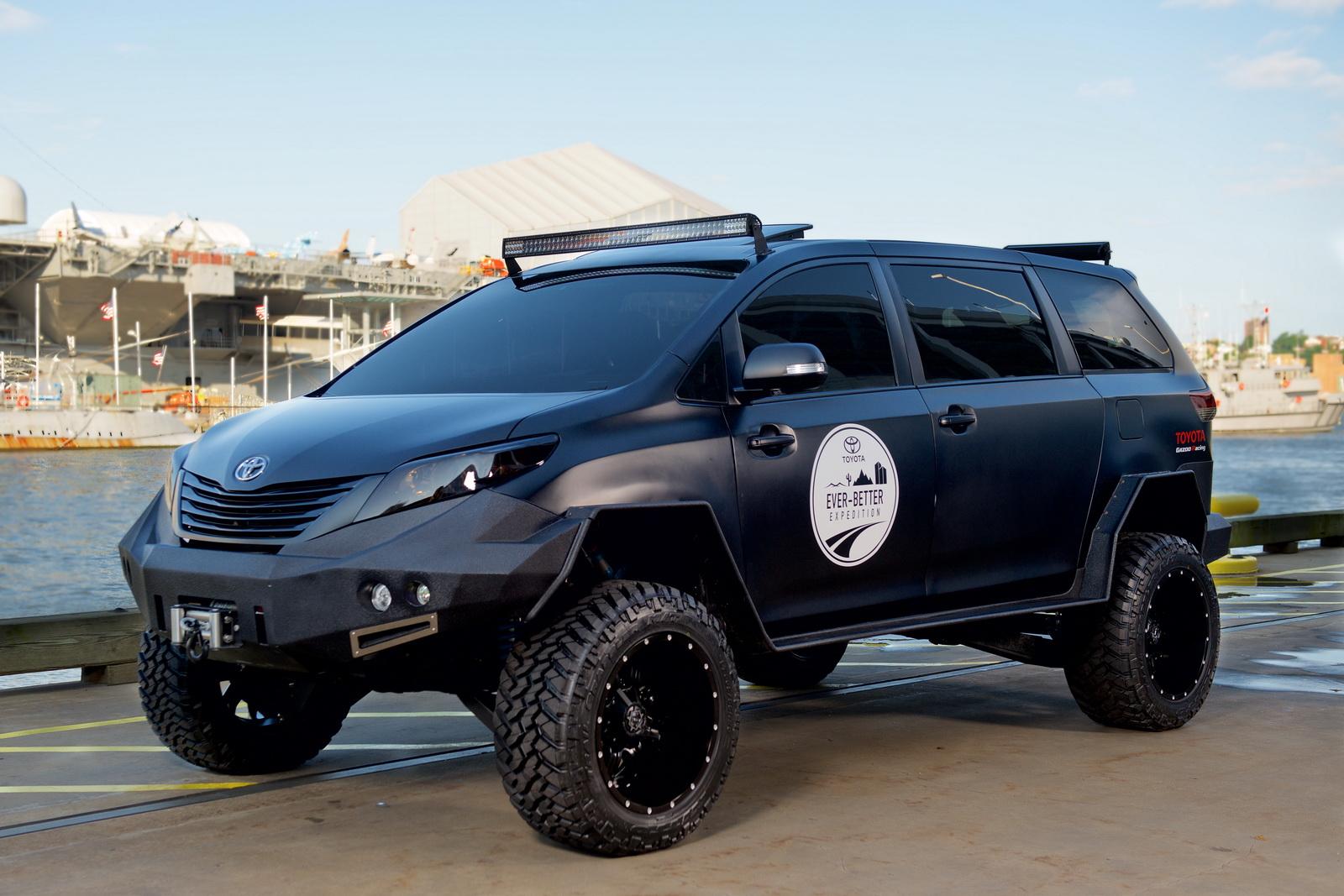 トヨタ「uuv」発表;ミニバン 215 ピックアップトラックの超イカツイボディ@sema2015 Newcar Design