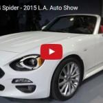 フィアット「新型124スパイダー」実車デザイン動画@LAモーターショー