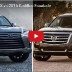 レクサス「LX570」 vs キャデラック「エスカレード」;デザイン比較【動画】