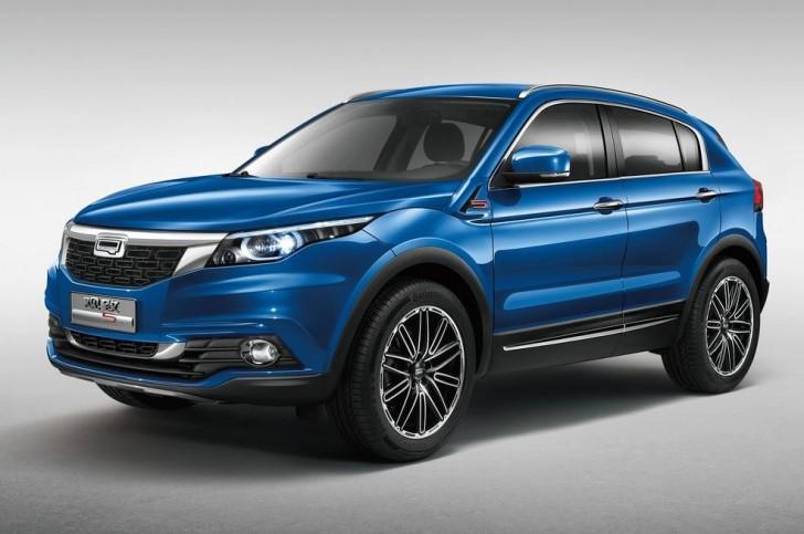 Qoros 5 SUV 2016 01