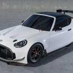 トヨタ「新型S-FR Racing Concept」発表;デザイン画像集