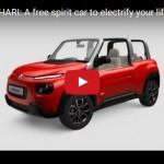 シトロエン「E-MEHARI」=SUVスタイル小型EV【オフィシャル動画】