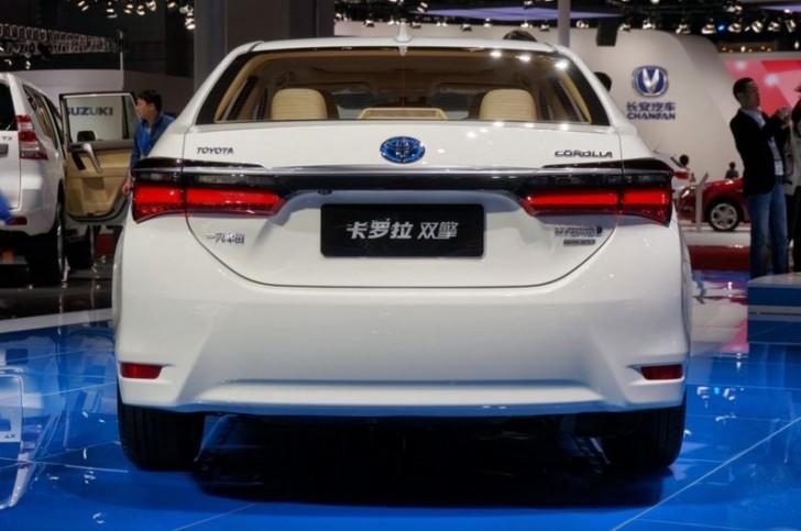 トヨタ カローラハイブリッド中国モデル7